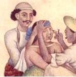 revisión vista grabado hindú