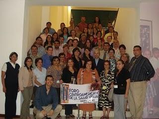 Foro Centroamericano de la Salud Visual (foto grupo)
