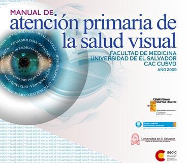 Portada Manual de atención primaria salud visual